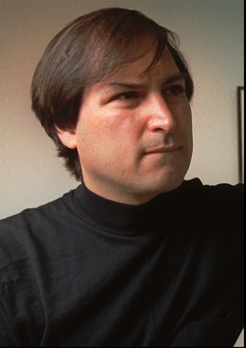 Steve Jobs, co-founder of Apple Computers, is shown in this 1993 file photo. Indeed, in the history of postwar American capitalism, it&#39;s hard to think of a product with more influence, and a more fanatical customer following, than the Macintosh computer - or of one that was hobbled by as many bad management decisions on the part of its maker. <span class=meta>(AP Photo)</span>