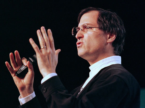 "<div class=""meta ""><span class=""caption-text "">Steve Jobs, the chief executive of the animation company Pixar, speaks at the MacWorld trade show in San Francisco on Jan. 7, 1997. Jobs has turned down an offer to become Apple Computer Inc. s next chairman and chief executive officer, published reports said Thursday, July 31, 1997. Jobs said Apple s board of directors asked him three weeks ago, after the July 9 ouster of Gil Amelio, to head the company he co-founded in 1976. (AP Photo/Eric Risberg)</span></div>"