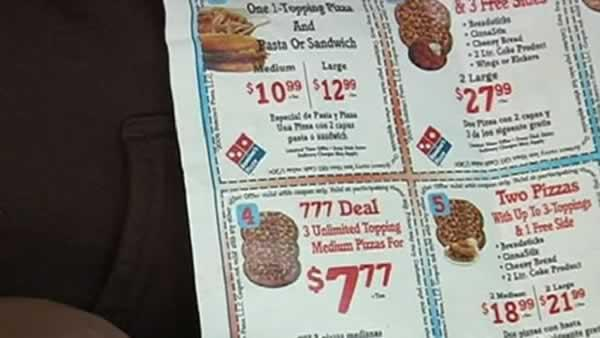 Family told pizza coupon deal was a mistake