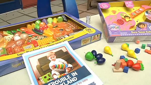 CalPIRG releases report on dangerous toys of 2012