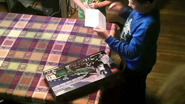 Boy gets big surprise after writing Lego
