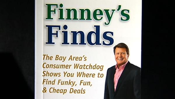 Michael Finney has a new book: Finney's Finds