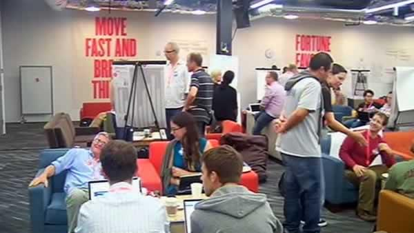 Tech powerhouses hold hackathon for students