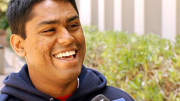 Teen named UC Berkeley's top graduating senior