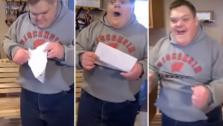 Teen with Down syndrome accepted to college.