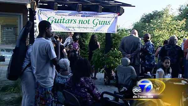 Guitars Not Guns graduates another class