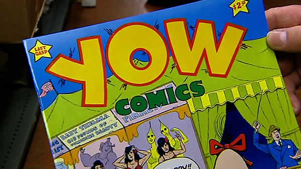 Underground comic book publisher turns 40