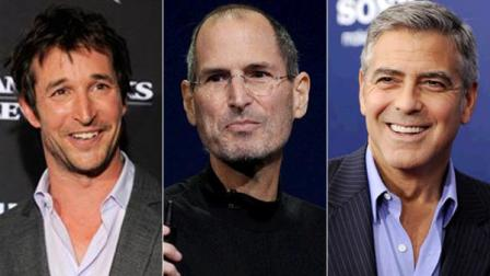 Noah Wyle, Steve Jobs and George Clooney