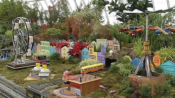'Playland' recreated at the Conservatory