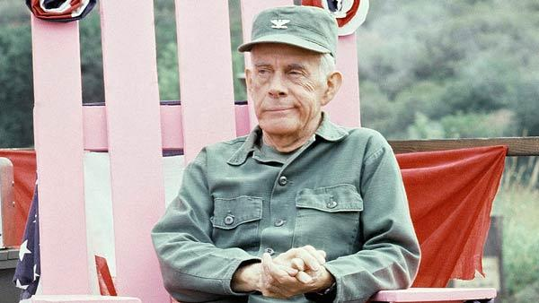 Actor Harry Morgan of