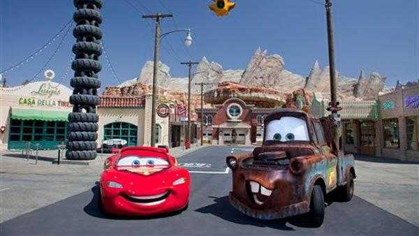 Cars Land opens at Disney's California Adventure