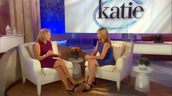 Carolyn Johnson goes one-on-one with Katie Couric