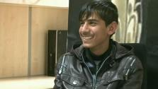 A teen living in poverty in Afghanistan is the star of an Oscar-nominated movie.