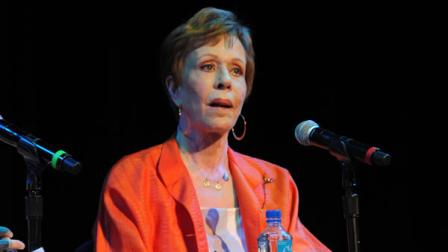 Carol Burnett at the 2013 LA Times Festival of Books at the University of Southern California campus on Saturday April 20, 2013, in Los Angeles.