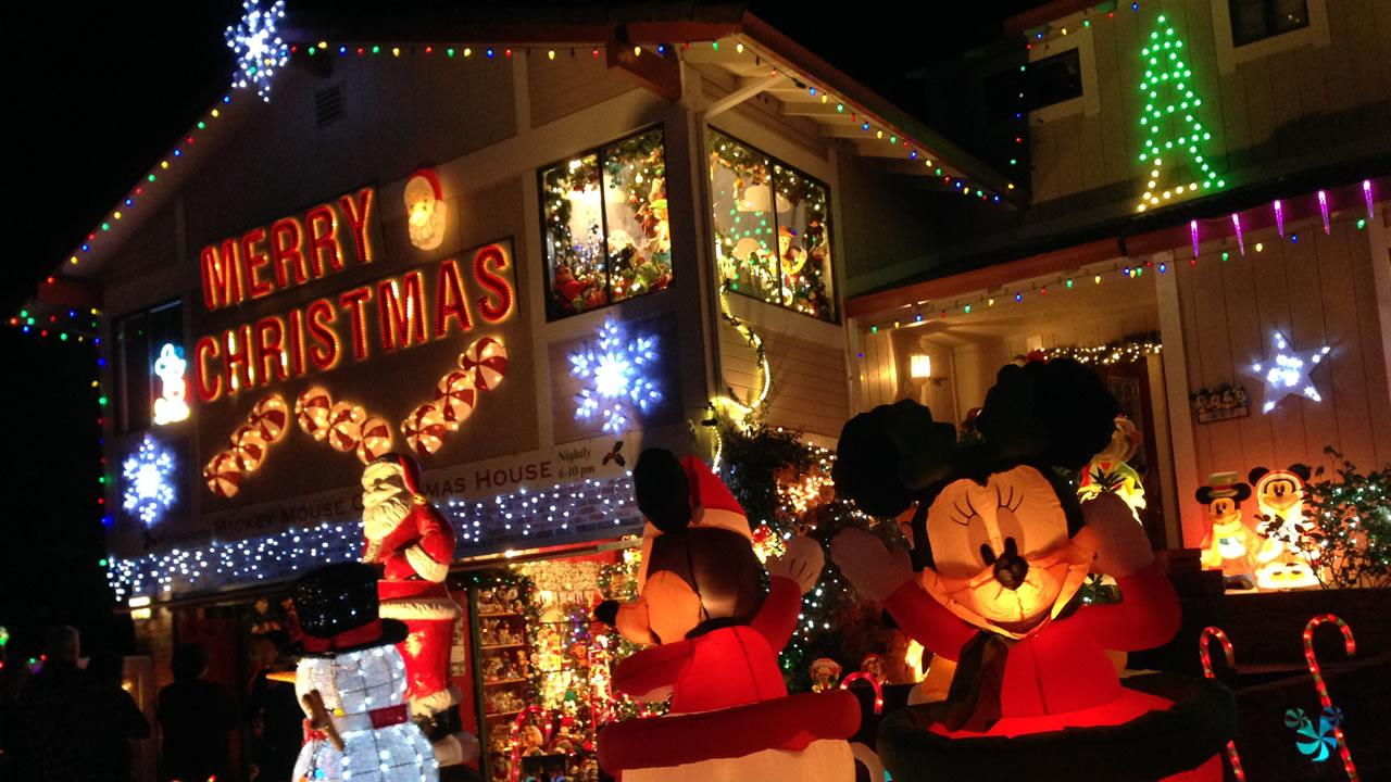 The Mize family of San Rafael will compete against other families on The Great Christmas Light Fight.