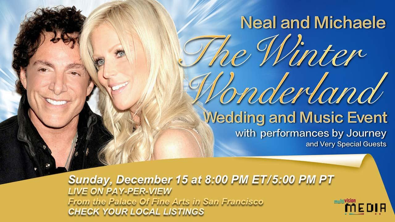 Neal and Michaele The Winter Wonderland Wedding.