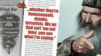 GQ Magazine article on Phil Robertson