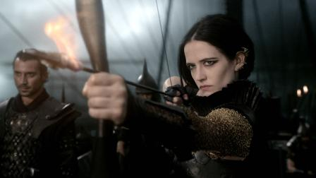 This image released by Warner Bros. Pictures shows Eva Green in 300: Rise of an Empire.