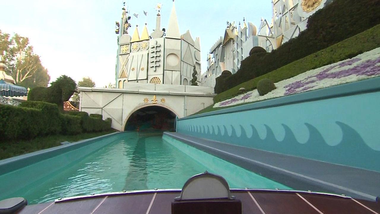 Small World at Disneyland.