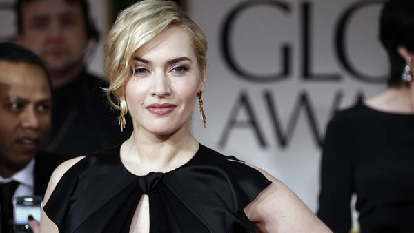 "<div class=""meta ""><span class=""caption-text "">Kate Winslet arrives at the 69th Annual Golden Globe Awards Sunday, Jan. 15, 2012, in Los Angeles. (AP Photo/Matt Sayles)</span></div>"