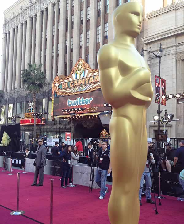 Here&#39;s a behind the scenes look at the preparations for the 84th Academy Awards! <span class=meta>(KGO)</span>