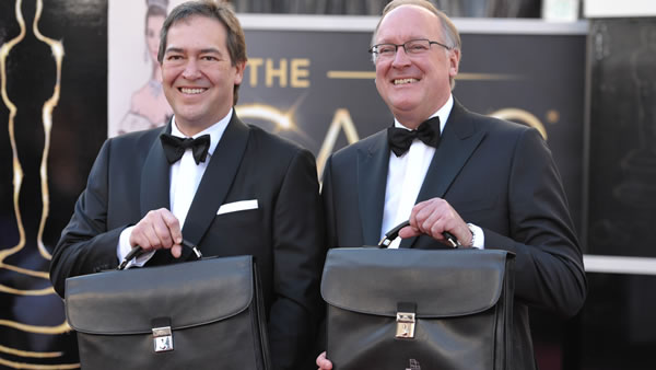 <span class=meta>(Representatives of PriceWaterhouse Coopers arrive at the 85th Academy Awards at the Dolby Theatre on Sunday Feb. 24, 2013, in Los Angeles. &#40;Photo by John Shearer&#47;Invision&#47;AP&#41;)</span>