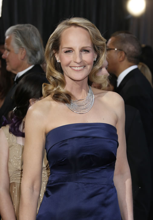 "<div class=""meta ""><span class=""caption-text "">Actress Helen Hunt arrives at the Oscars at the Dolby Theatre on Sunday Feb. 24, 2013, in Los Angeles. (Photo by Todd Williamson/Invision/AP)</span></div>"