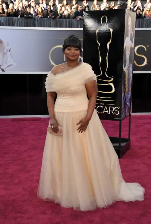 "<div class=""meta ""><span class=""caption-text "">Actress Octavia Spencer arrives at the 85th Academy Awards at the Dolby Theatre on Sunday Feb. 24, 2013, in Los Angeles. (Photo by John Shearer/Invision/AP)</span></div>"