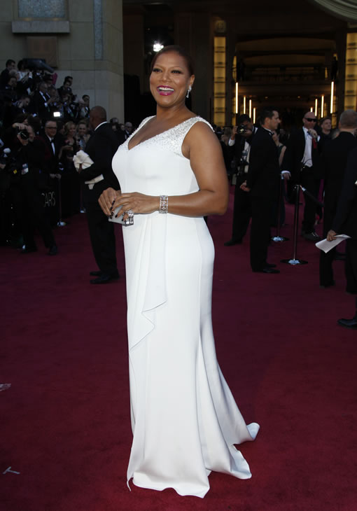 "<div class=""meta image-caption""><div class=""origin-logo origin-image ""><span></span></div><span class=""caption-text"">Queen Latifah arrives at the Oscars at the Dolby Theatre on Sunday Feb. 24, 2013, in Los Angeles. (Photo by Carlo Allegri/Invision/AP)</span></div>"