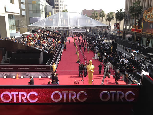"<div class=""meta ""><span class=""caption-text "">Here is a photo of the outside of the Hollywood and Highland Center in Los Angeles taken on Sunday before the 84th Academy Awards. (Rosendo Pena/KGO)</span></div>"
