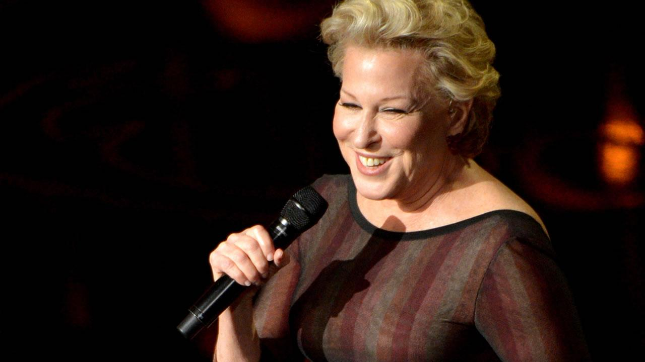 Bette Midler performs during the Oscars.