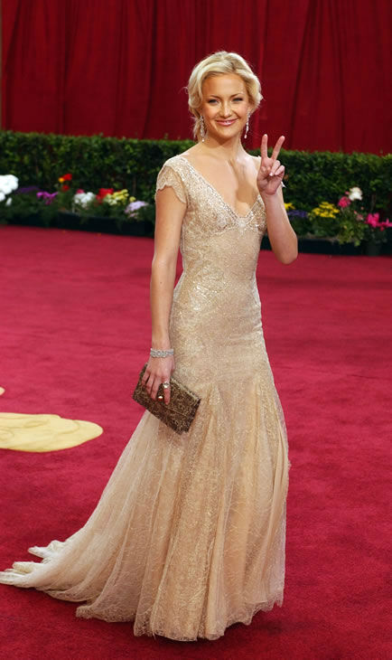 Best #1: Kate Hudson in Versace at the 2003 Academy Awards. <span class=meta>(AP Photo)</span>