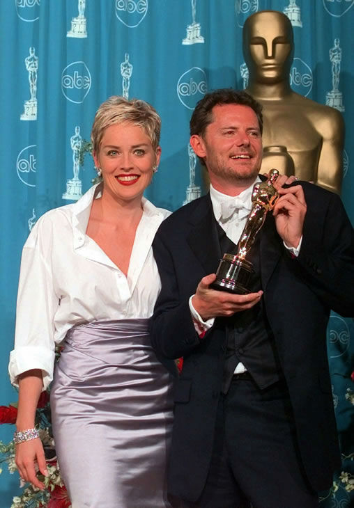 Best #3: Sharon Stone in a Gap mens shirt and a Vera Wang skirt at the 1998 Academy Awards. <span class=meta>(AP Photo)</span>