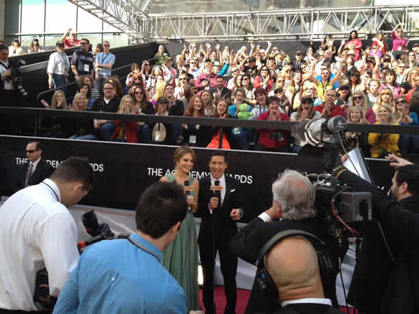 Mario Lopez on the red carpet of the 84th Academy Awards. <span class=meta>(Rosendo Pena&#47;KGO)</span>