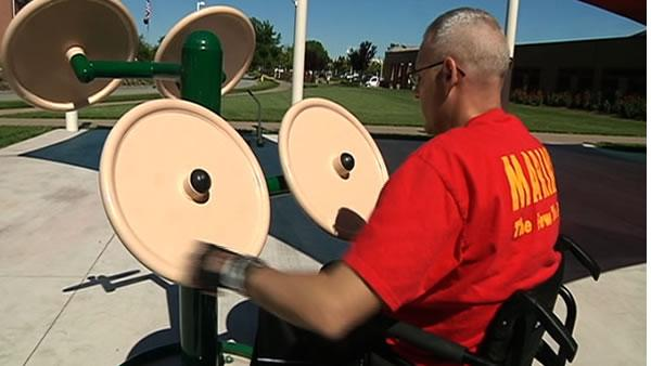 Bay Area rehab program designs workouts for vets