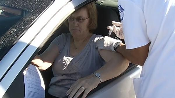 Hospital offers drive-thru flu shot clini