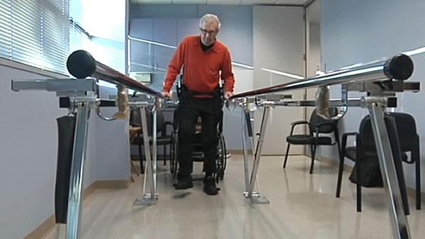 Kick Start helps paralysis patients move on their own