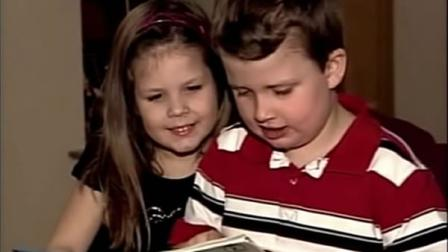 Children with autism reading