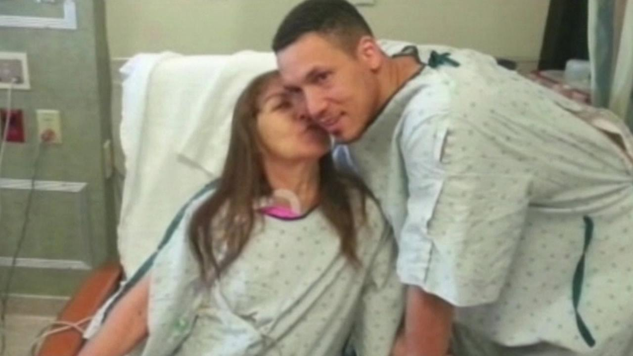 A woman in Phoenix is alive thanks to a priceless Mothers Day gift from her son -- a kidney.