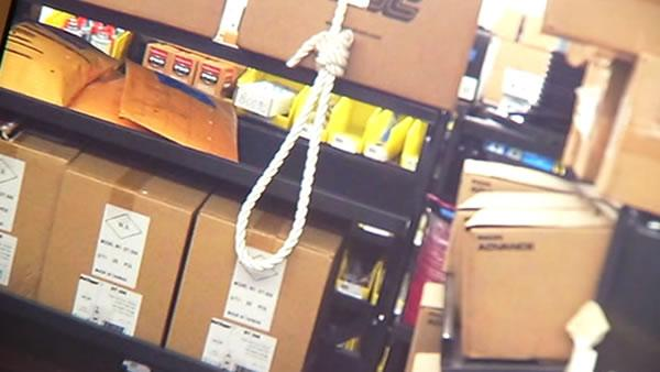 Noose hung in UCSF warehouse