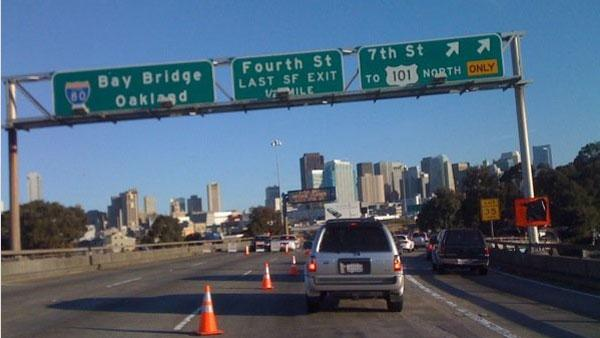 Bay Bridge detour