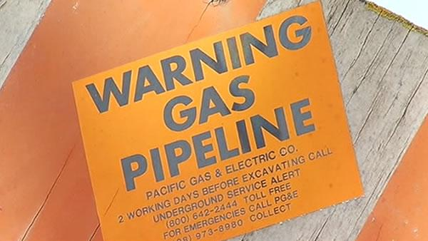 PG&E to test pipelines in Mountain View and Antioch