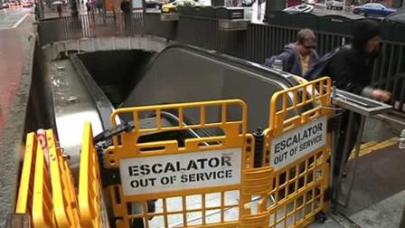 BART escalator