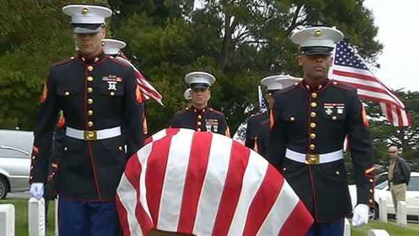 Bay Area WWII veteran buried 70 years later