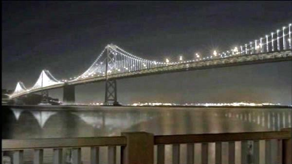 Official plan to illuminate Bay Bridge revealed