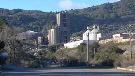 Cement plant in Cupertino