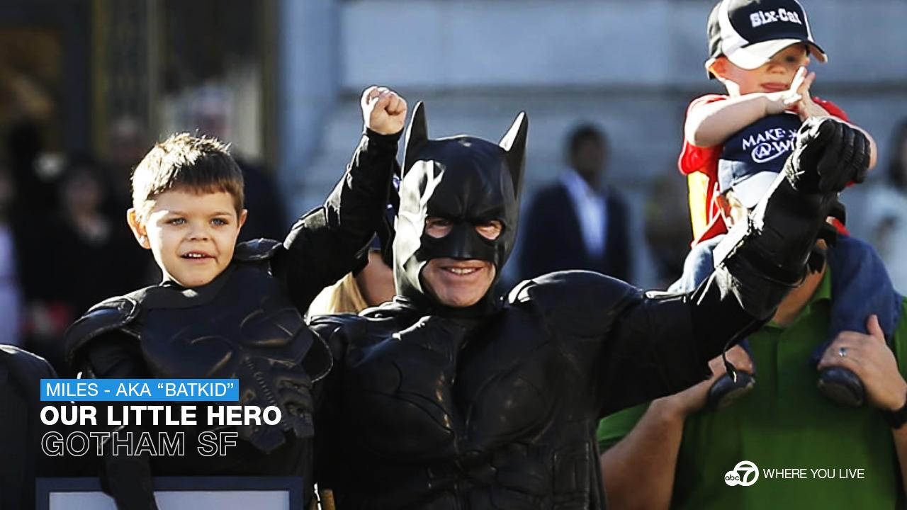 Where were you the day Batkid saved the City?