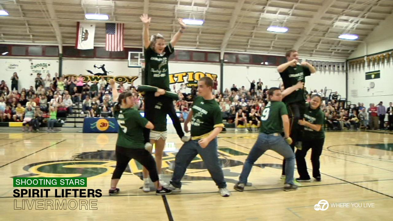 Livermore High Schools Shooting Stars are known to spark the biggest cheers of the night, regardless of the score.