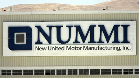 The New United Motor Manufacturing Inc., (NUMMI) plant in Fremont, Calif.