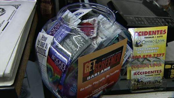 Oakland businesses encourage HIV prevention
